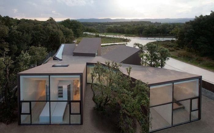"""Къща на павилионите: възможност да бъде сам в собствената си """"ъгъл"""""""