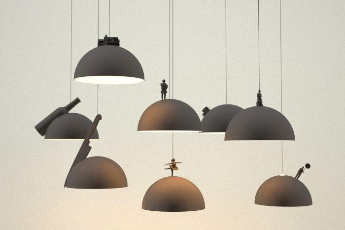 Висящи лампи, които биха могли да се заселят малкият принц