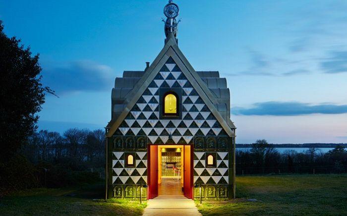 """Gingerbread House"" за туристи: необичайна сграда в стил авангард"
