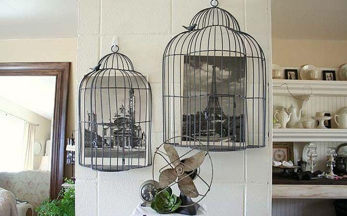 Клетка за птици в интериора: 20 невероятни и креативни идеи
