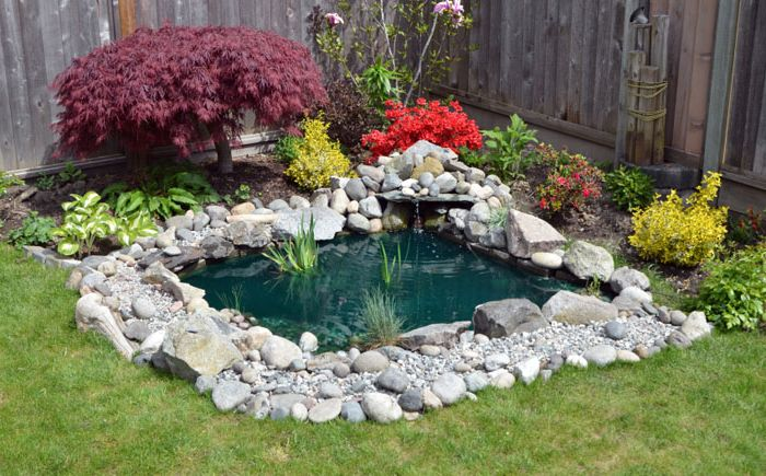 A haven for relaxation: 25 stunning design ideas in the garden pond