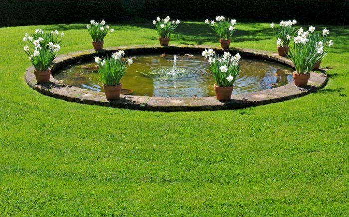 휴식을위한 안식처 : 정원 25 멋진 디자인 아이디어 연못  dizainall.com