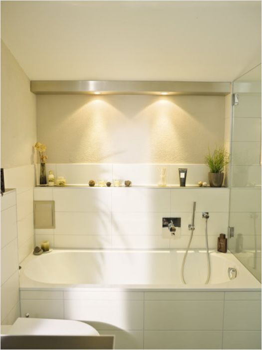 10 ways to make optimal use of the space bathroom.