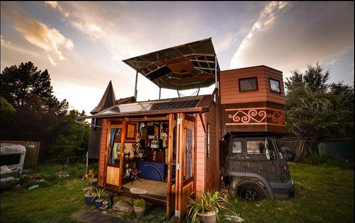 DIY: Castle, която можете да вземете със себе си на пътешествие