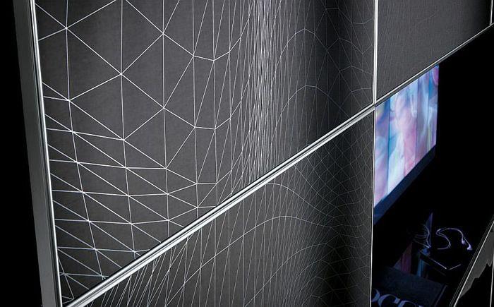 събиране Silkscreen Crystal: поразителен дизайн на кухня и всекидневна комплекти стая