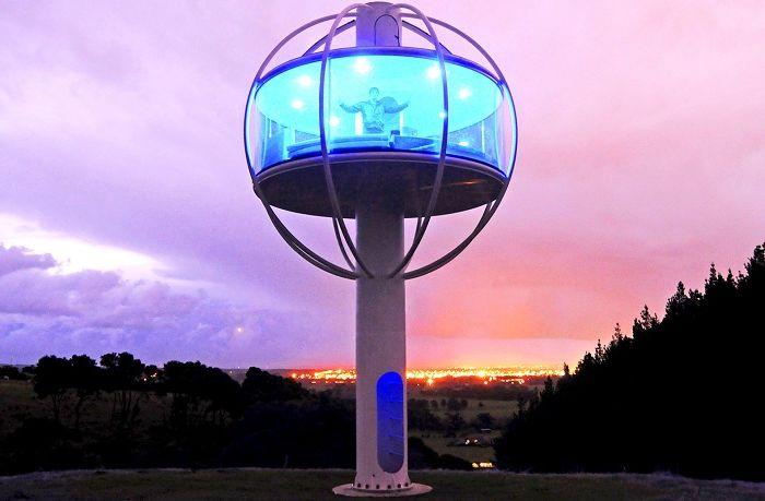 """«Skysphere» - високотехнологична бакалавър """"бърлога"""", в който всичко се контролира с помощта на смартфон"""