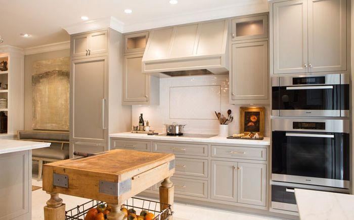 дизайнер съюз и клиент: зашеметяващ интериор на къща в традиционен стил