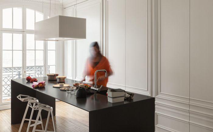 moderne küche - stilvoll, schön und funktional | dizainall, Hause ideen