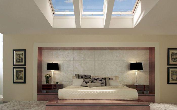 Stylowe Pokoje Z Oknami Dachowymi Dizainallcom