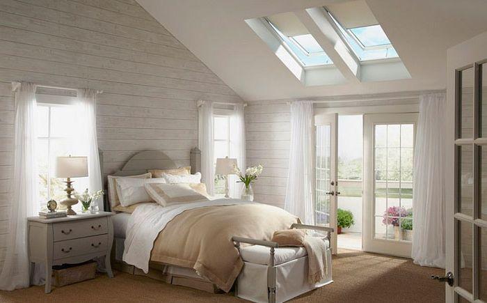 채광과 세련된 침실  dizainall.com