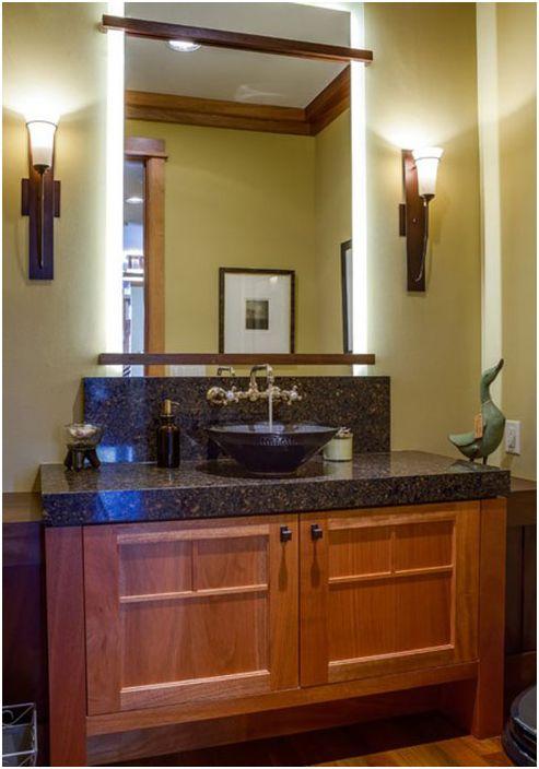 Шкафът под мивката: красив, практичен и функционален