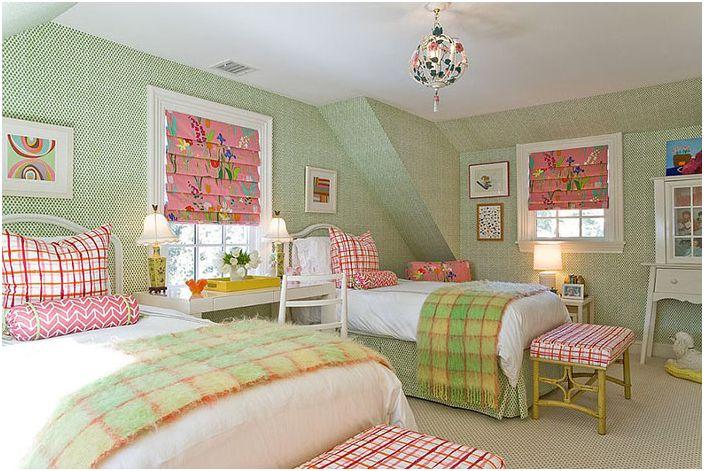 Uppfriskande färger 25 fantastiska sovrum i olika nyanser av grönt dizainall com