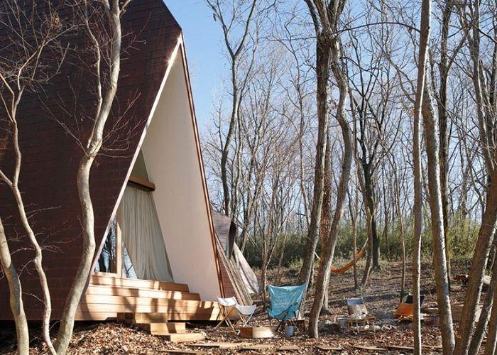 Животът в кампанията: къща страна под формата на няколко палатки