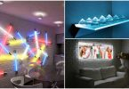 14 exciting ideas for lighting the apartment, which will transform the interior