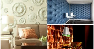 16 kinds of spectacular walls, which will replace the boring wallpaper