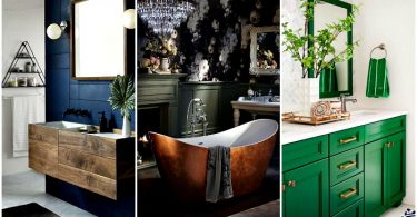 19 gorgeous bathrooms, affecting its design and style
