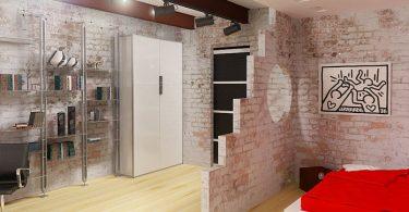 Bedroom + Cabinet-666-6