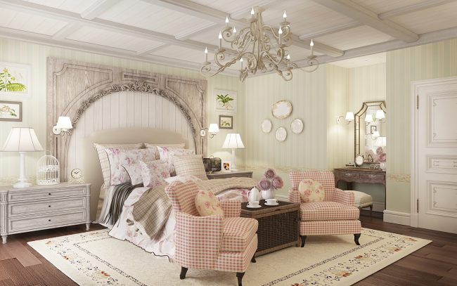 Bedroom- in- Provence- style-555-8