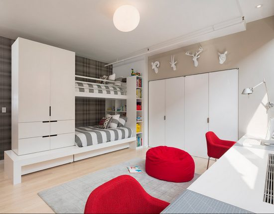Design- and- interior- of- a- children's- room- for - boys-19