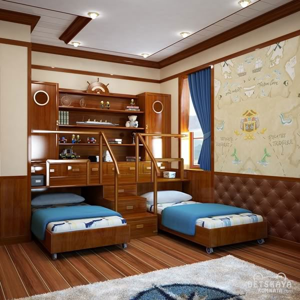 Design- and- interior- of- a- children's- room- for - boys-4