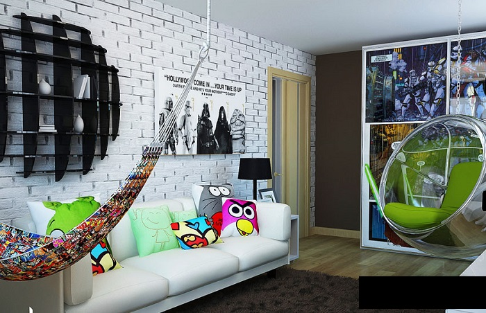Interior- design -of- a room -for - teenager-6