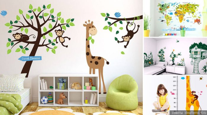 Wall-decoration-in-the-children's -room-10