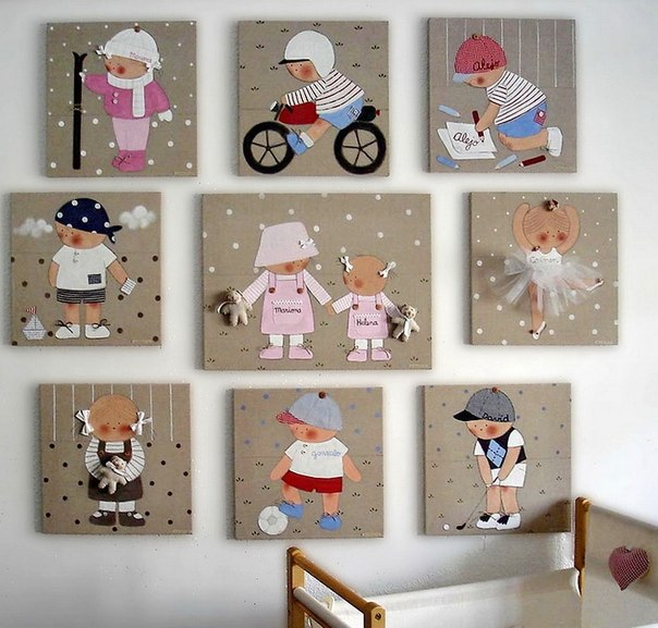 Wall -decoration- in -the- children's -room-5