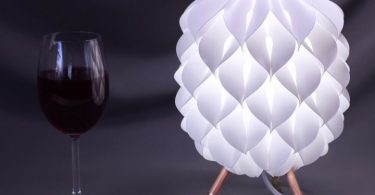 White table lamp, designed by Sander Bakker