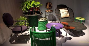 Dacha outdoor furniture from the company Moroso