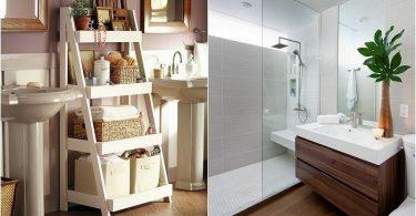 Perfekt interiør bittesmå bad: de beste ideene for design