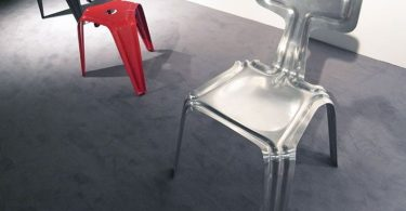 Elegant model with a lifetime warranty: grace and reliable aluminum chair by Harry Thaler
