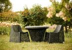 Collection of exterior: Basalt furniture from Raymond Cīrulis Company Maffam Freeform
