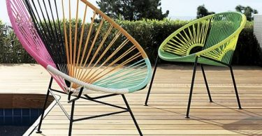 Furniture for open-air terrace. Increases the comfort of the rest