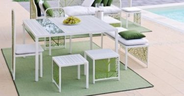 The furniture in the Art Nouveau style - trendy interior of your garden