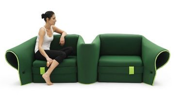 Multifunctional sofa-transformer from the factory Campeggi