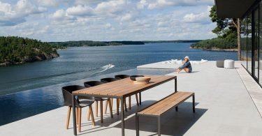 Outdoor decor minimalist Scandinavian