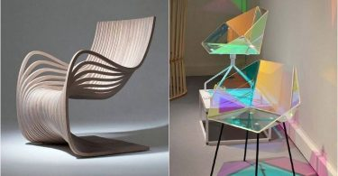 The original modern furniture, one form of which is surprising and delight
