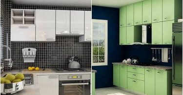 The original interiors of modern kitchen, which you can use for inspiration