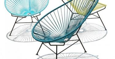 "Hanging chair-swing ""Cocoon"" by Moroso - take a dip in childhood"