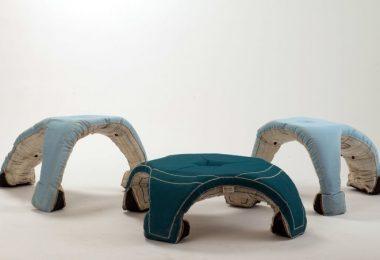 Hagemøbler fra Itay Kirshenbaum - nye trender i møbelindustrien og ikke bare