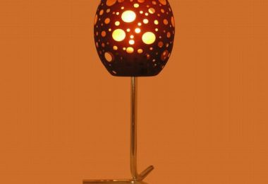 Modern designer lamps with an unusual shade