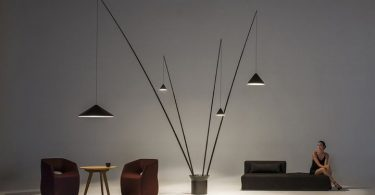 Stylish collection of lamps: daring design decisions