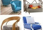 Chairs for the garden. 16 great options