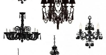Jewellery made of rock crystal: photo luxurious chandeliers