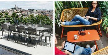 Outdoor furniture. Photos modern variants