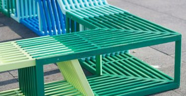 Outdoor furniture by Izabela Boloz