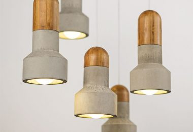 Unique design lamps Concrete Cement Pendants