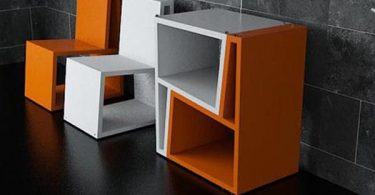 Herlig stoler transformatorer - fantastisk design dybden av den chilenske studio Elemento Diseno