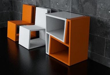 Delightful chairs transformers - stunning design depth of the Chilean studio Elemento Diseno