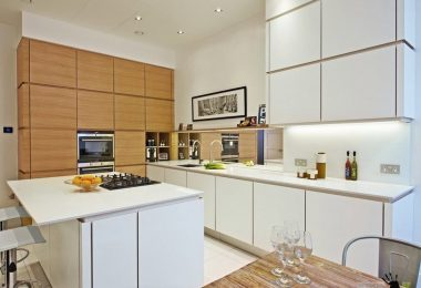 100 best design ideas: kitchen 12 sq. M. M on the photo
